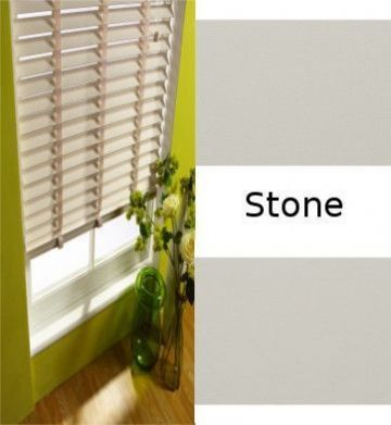Stone Real Wood Venetian blinds Made to Measure